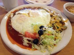 Caliente's huevos rancherosCaliente's huevos rancheros