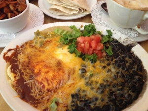 Greenside Cafe huevos rancheros
